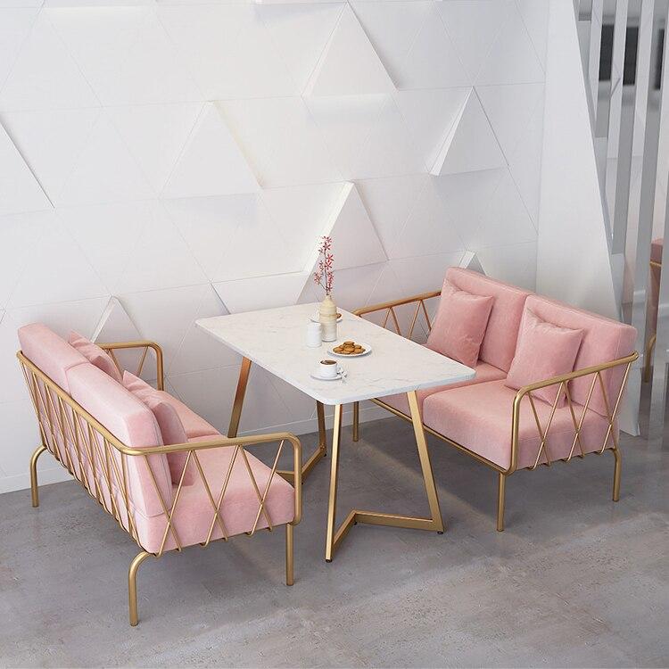 Новое поступление диван для кафе, кабинка для студийных переговоров, зона отдыха, офисный ресепшн, досуг, молочный чай, магазин, стол и стул, ...