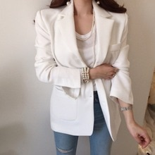Korean Chic Fried Street Small Suit Jacket Women's Korean-Style Loose Spring and Autumn British Styl
