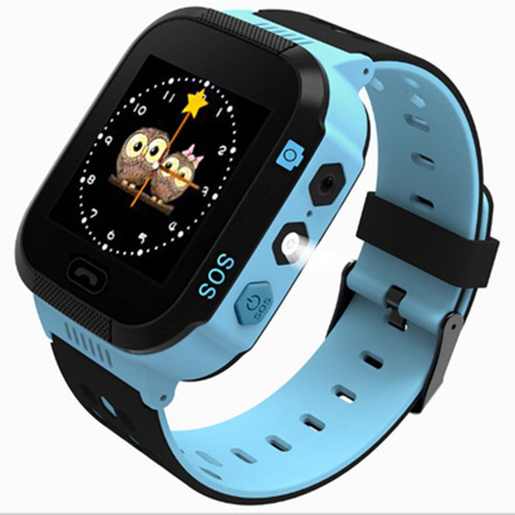 Bluetooth Kids Smart Watch for IOS Android  children phone watch Pedometer Fitness Bracelet Watches with camera and led light