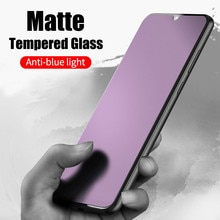 Защита от синего матового закаленного стекла для Redmi K20 Pro Note 7 8 8T 8A Xiaomi Mi A3 9T Pro 9 Lite