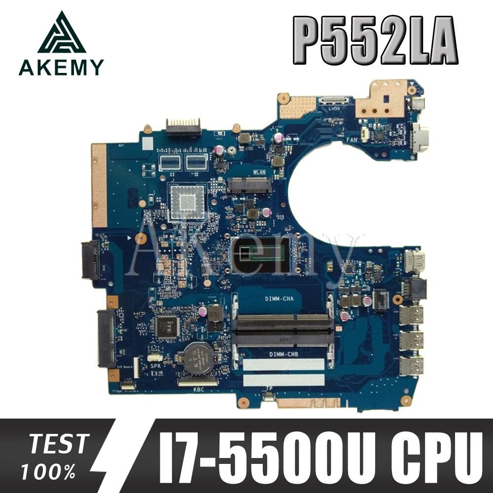 جديد! ل For Asus P552Lj P552LA P552L PRO552L PRO552LJ الأصلي Mianboard اللوحة المحمول 100% اختبار موافق ث/i7-5500U SR23W