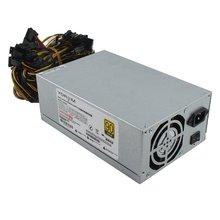 200-240v carte graphique Machine dextraction puissance multi-canal 2000w 8 carte 2000w Atx or alimentation minière Sata Ide 8 Gpu
