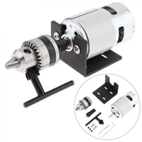 24v 555775 electric lathe press motor 5060hz with mini drill chuck and mounting bracket 8000 28000rpm for lathe press engrave