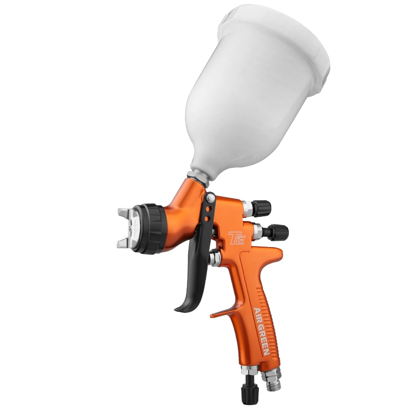 Pistola de pintura neumática profesional TE HVLP boquilla de 1,3mm para pintura de reparación automotriz