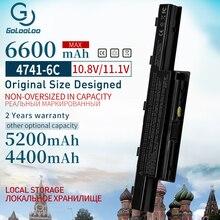 V3 Golooloo 11.1v 4400mah Bateria para Notebook Acer Aspire 571G AS10D41 AS10D81 AS10D61 AS10D31 AS10D71 AS10D73 V3-571G V3 e1 4741 7560G