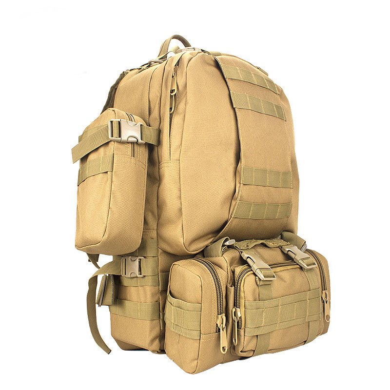 60L Outdoor Military  Nylon Waterproof Molle Tactical backpack Sports Camping Hiking Trekking Fishing Hunting Bags enlarge