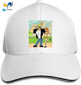 Johnny Bravo Cap Headdress Sandwich Hat Unisex Vogue Sunhat Adjustable Baseball Cap