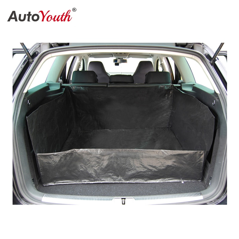 AUTOYOUTH PE Tarpaulin Car Trunk Mat Liner Waterproof Car Protection Blanket For more cleanliness in