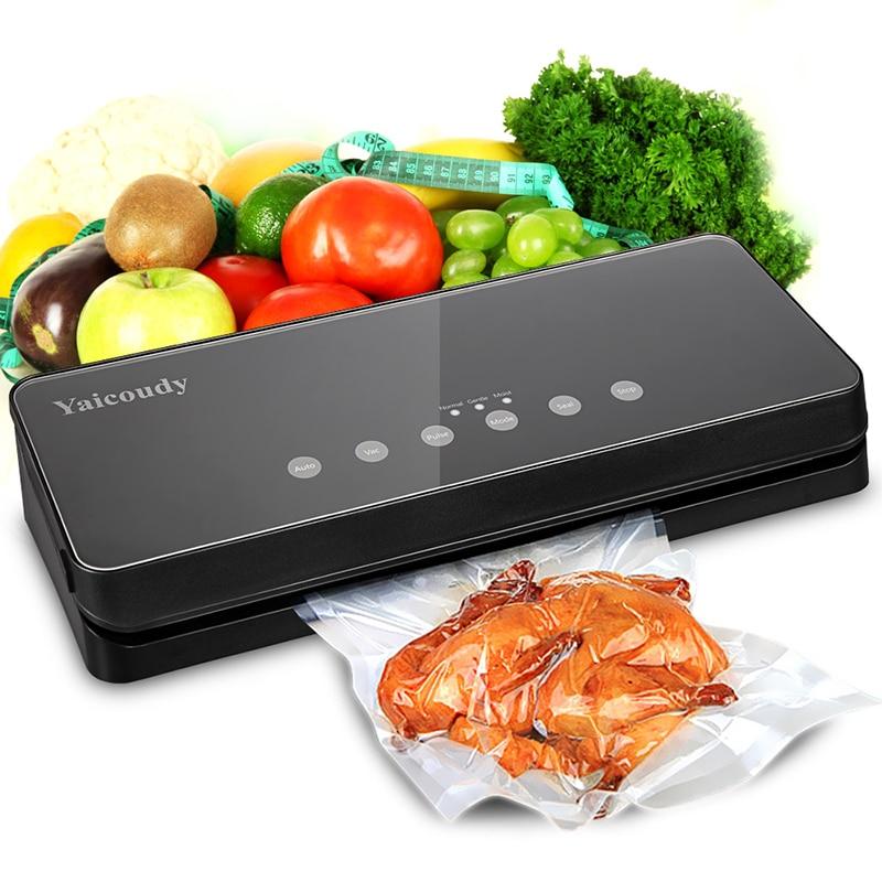 Vacuum Food Sealers kitchen Vacuum Sealer Machine Including 10pcs Bags Free Household Food saver Vacuum Packing