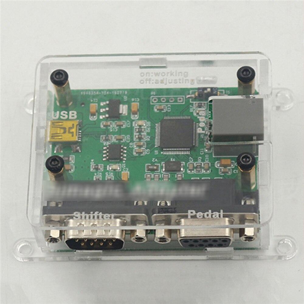 Engranaje de Pedal de cambio a sistemas PC, placa convertidora USB para Thrustmaster T3PA/T3PA Pro, Logitech G27 Pedal para piezas de reparación/29
