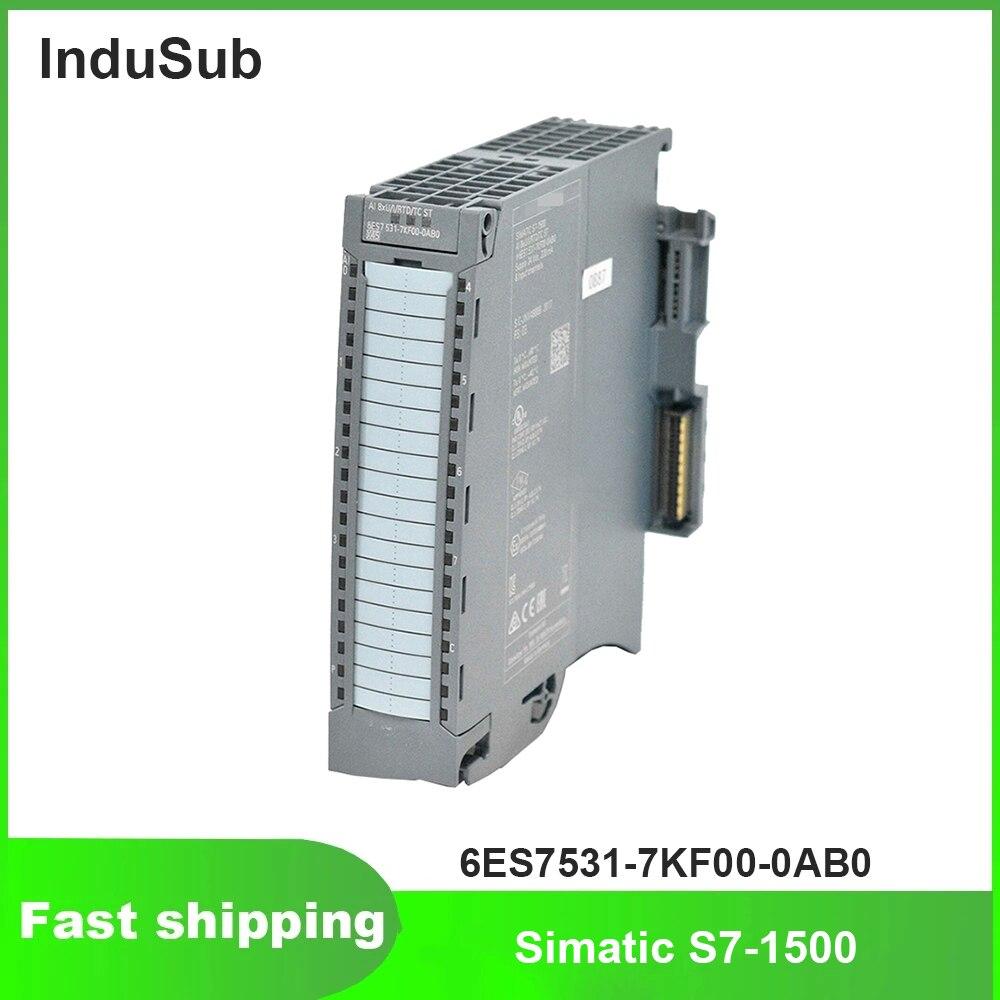 6ES7531-7KF00-0AB0 6ES75317KF000AB0 PLC Simatic S7-1500 التناظرية وحدة الإخراج الجديد الأصلي