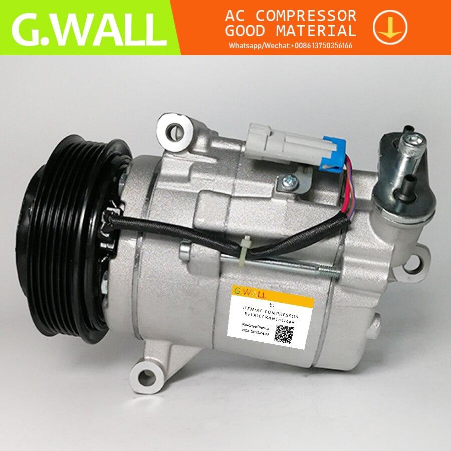 Для CSP17 AC компрессор для Chevrolet Cruze Orlando Opel Insignia 687997689 13220076 13314480 6854109 13250607 94552594