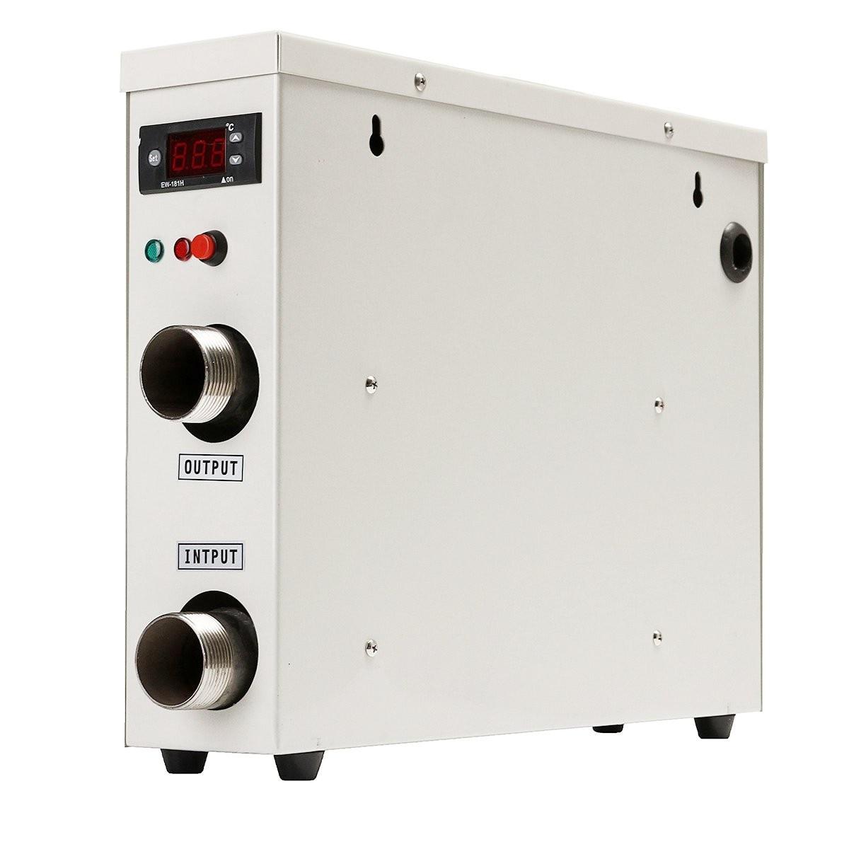 سخان مياه كهربائي رقمي 11KW 220V ، ترموستات لحمام السباحة ، المنتجع الصحي ، حوض الاستحمام الساخن ، الماء الساخن