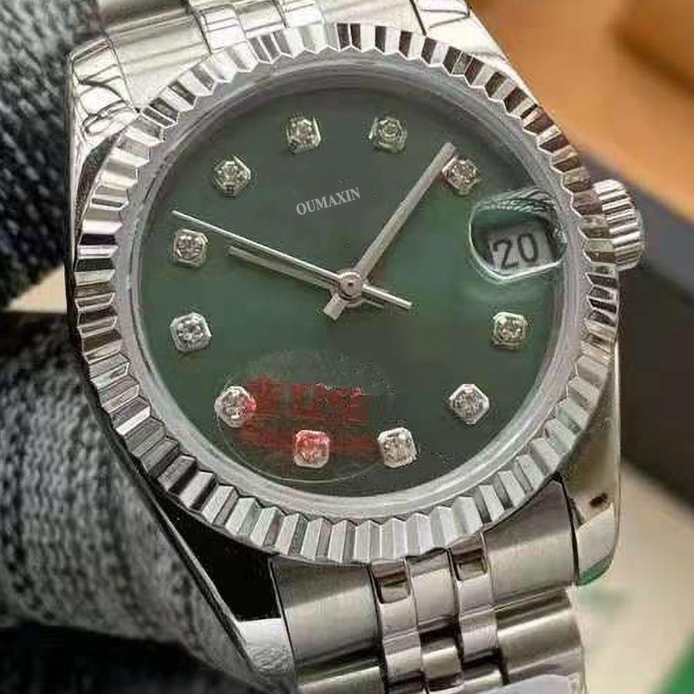 Luxury brand 36mm ladies watch automatic mechanical sapphire 316L stainless steel big red dial ladies clock enlarge
