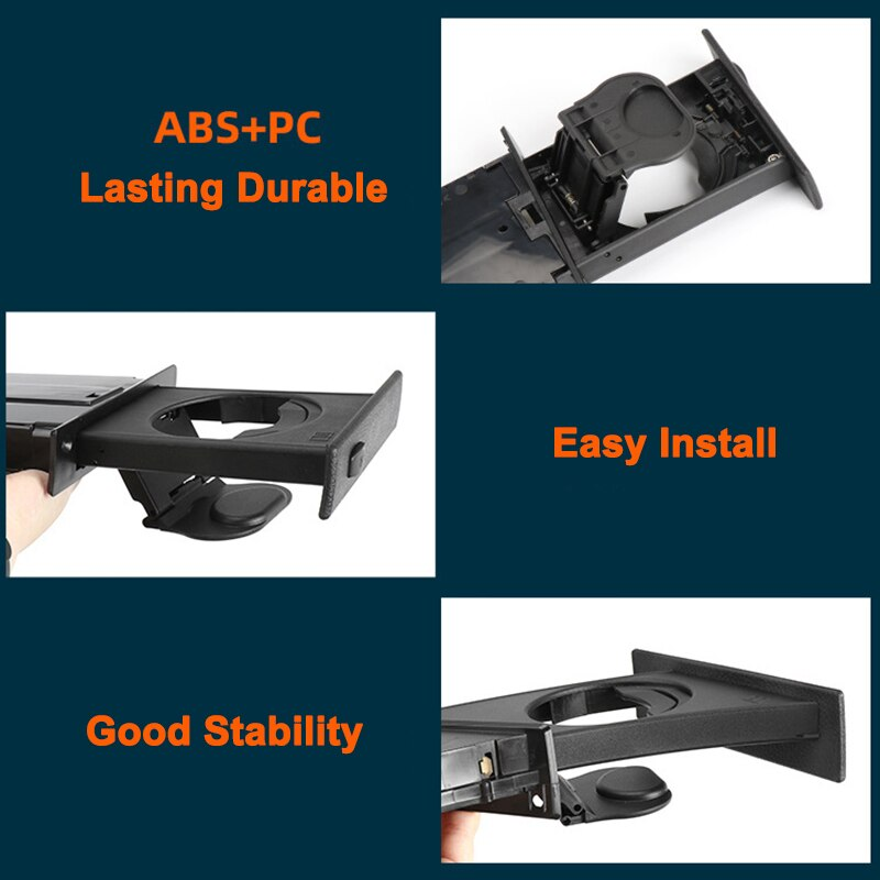 Car Front Left Cup Holder Drink Rack For BMW E60 E61 5 Series 520i 525i 528i 2003-2010 Cup Holders Auto Accessories 51459125622 enlarge