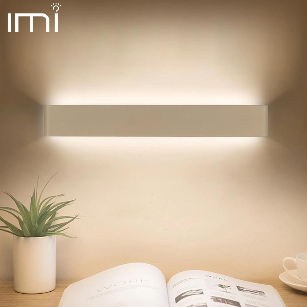 LED Wall Lamp Modern Light Fixture Indoor Wall Sconce Minimalist Stair Bedroom Bedside Living Room H