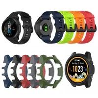 silicone wrist strap band for garmin forerunner 945 935 watch bracelet watchband for garmin forerunner 945 935 pc case cover