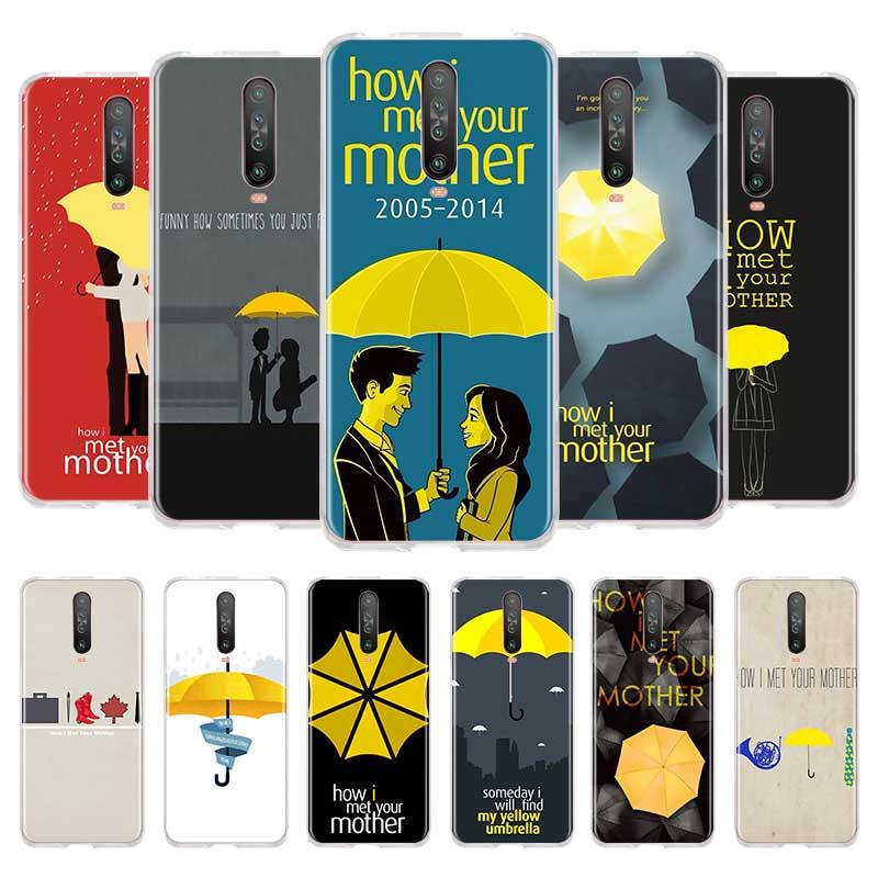 Cotações de How I Met Your Mother Caso Tpu para Xiaomi Mi Nota 10 Pro 5G 9T 9 CC9 a3 Poco F2 X2 A2 Lite 6X 5X Sacos Telefone Fundas Coque
