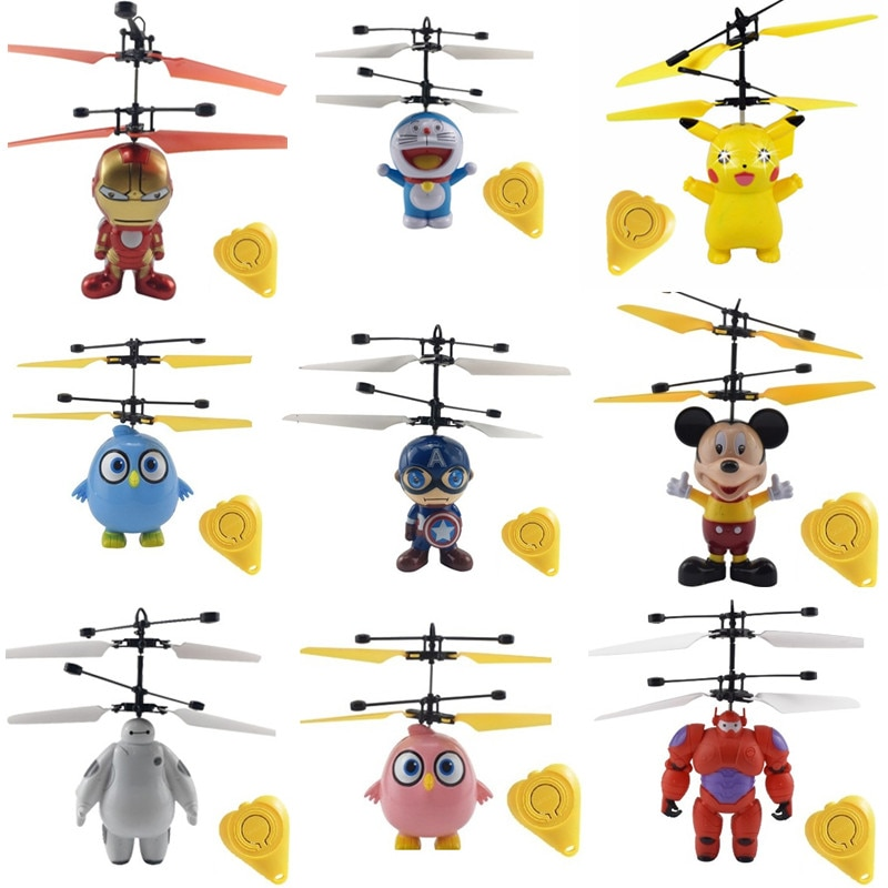 colorful mini drone shinning led rc drone flying ball helicopter light crystal ball induction dron quadcopter aircraft kids toys KaKBeir Mini Drone flying induction Quadcopter RC Drone Mini Infrared Sensor Helicopter Aircraft RC Toy Drone best gift toy