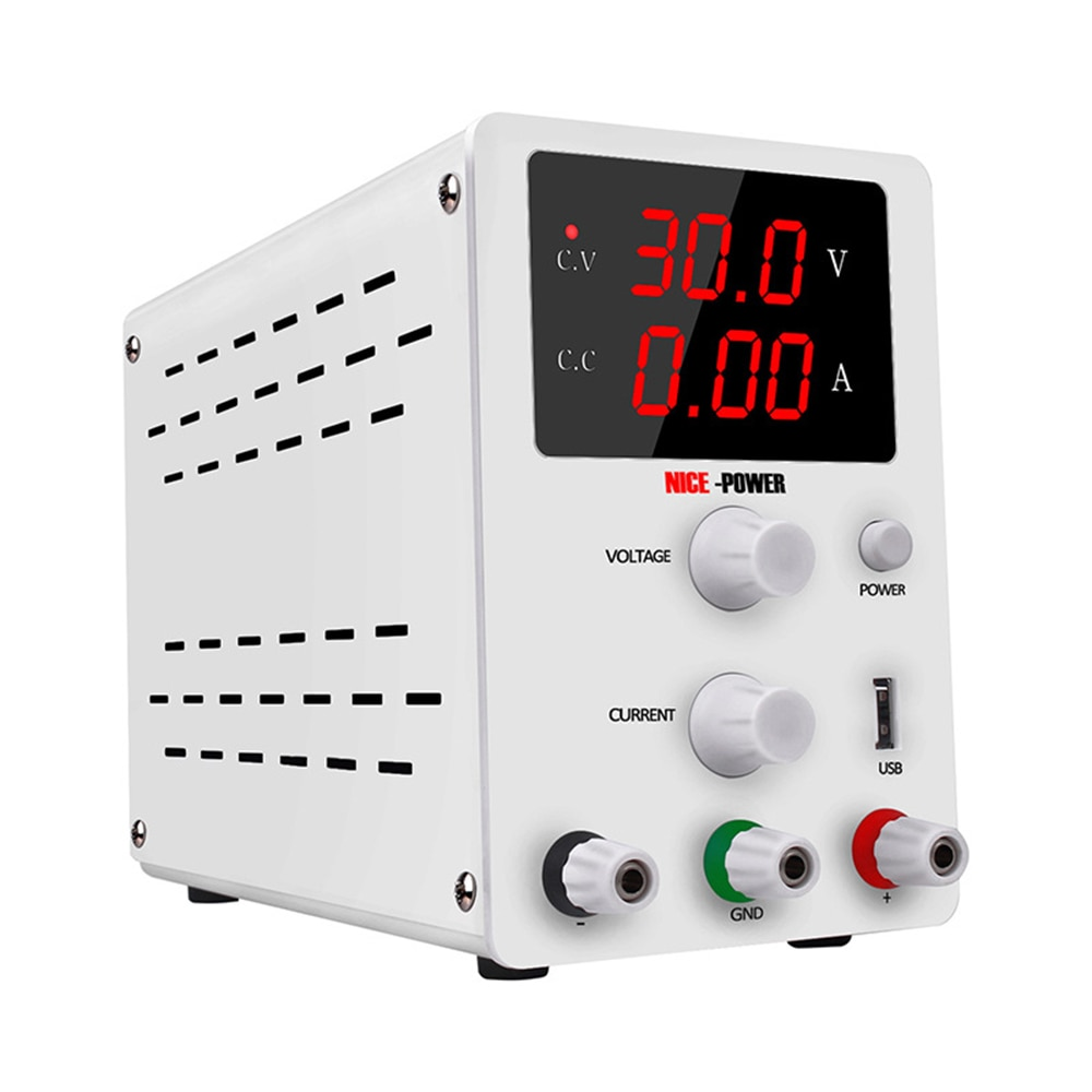 Voltage Regulator For Phone Repair Nice Power 30v 10a Switching Power Supply Sps3010 DC Power Supply Adjustable Digit Display nps306w laboratory switching power supply 30v 6a variable dc stabilized power supply 0 1v 0 01a 180w electroplating power supply
