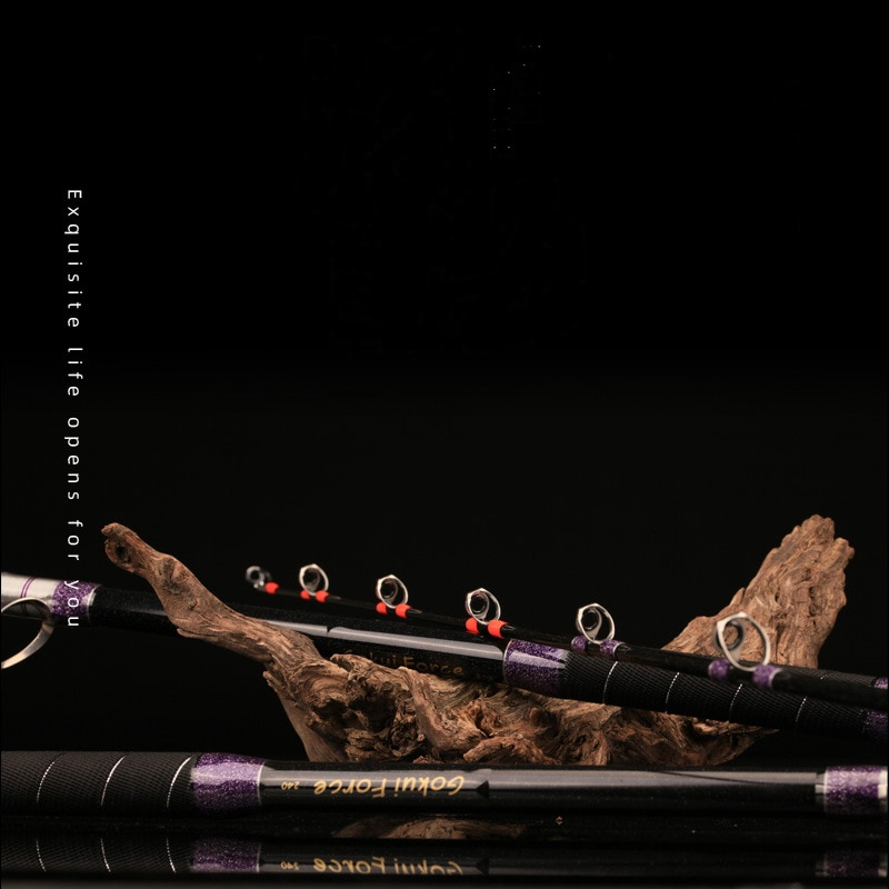 Super Fishing Power FRP Deep Sea Super Hard Boat Rods Offshore Angling Throwing Surfcasting Pole Solid Rock Tackle Jigging Gear enlarge