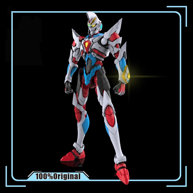 SSSS GRIDMAN 1/100, superhumano, electrónico, Gridman Denkou Choujin Gridman, modelo de ensamblaje, figuras de juguete de acción, regalo