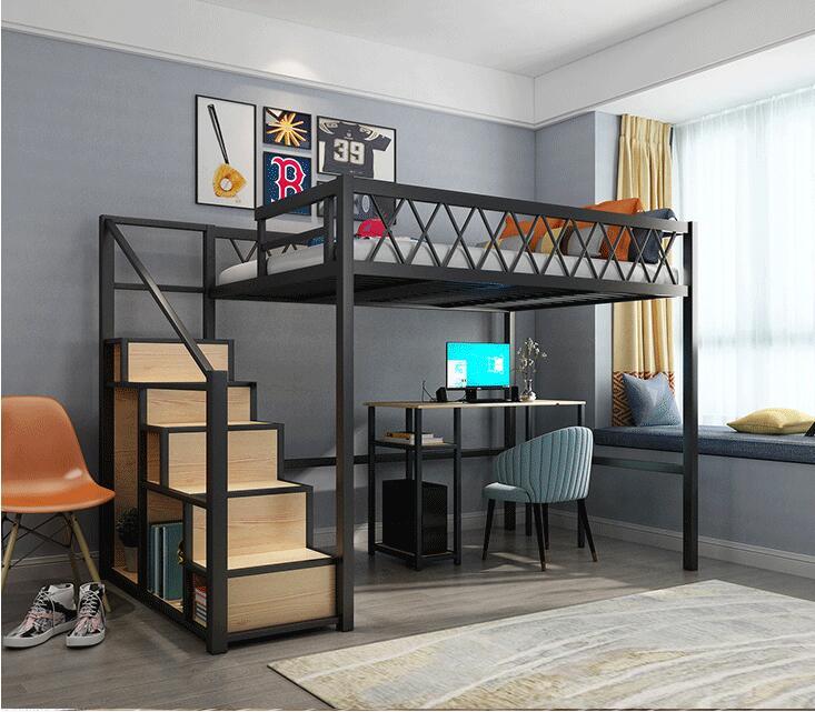 Tieryi-cama elevada sencilla y pequeña para el hogar, cama multifunción para dormitorios,...