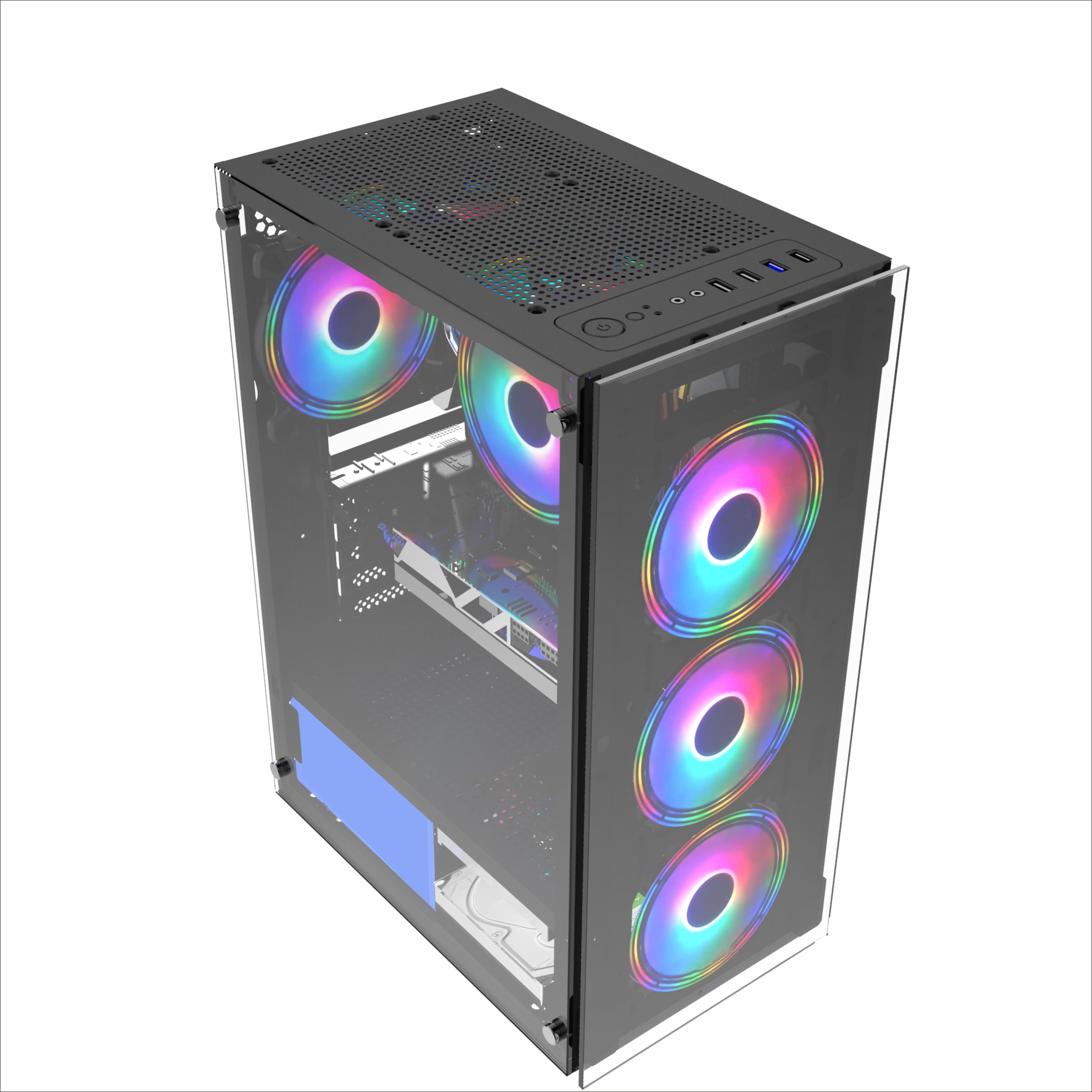 Intel Xeon E5-2660 16GB RAM SSD HDD GTX 1050 6GB Grafikkarten system Einheit Desktop-Gaming-Computer PC
