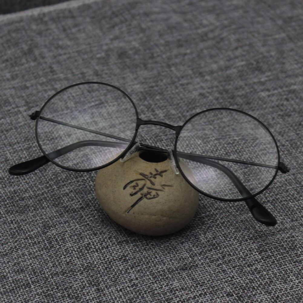 Корейские винтажные Круглые очки с оправой для мужчин и женщин, модные высококачественные очки, оверсайз круглые очки