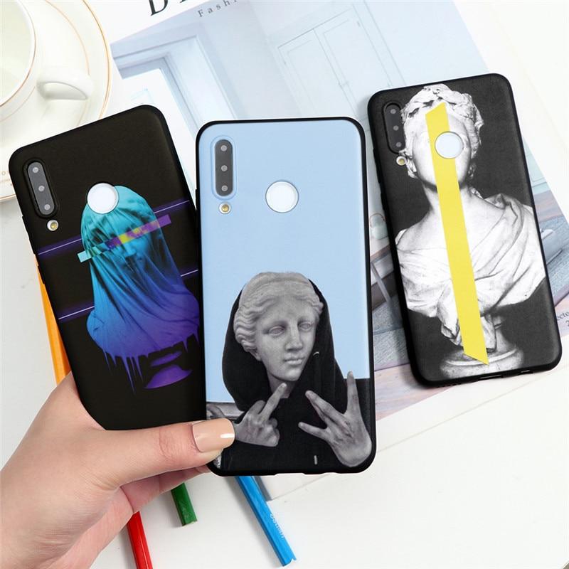 Coque souple pour téléphone Huawei nova 6 SE 5 5i 3 3i 4 4e Pro Coque Honor 8X 10 10i 20i V30 9 7A Pro Lite