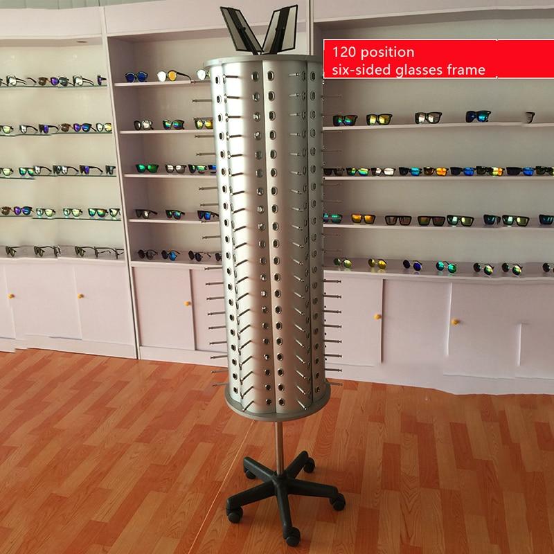 Store Glasses Display stand Sunglasses Holder Rack Glasses Show Display Stand Organizer, Can Hold 360 Degree Rotating
