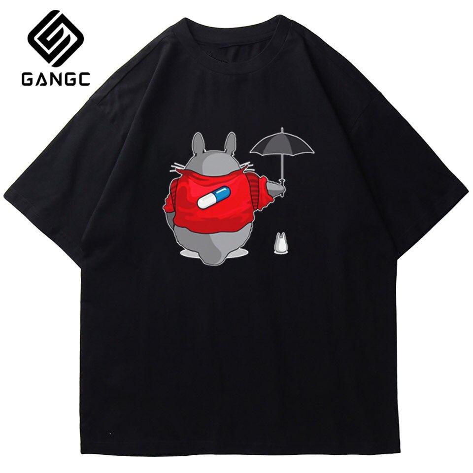 Akira-Camiseta de anime japonés para hombre, camisa informal con estampado blanco, cómoda,...