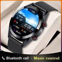 Новинка 454*454 Смарт-часы с AMOLED экраном дисплей Bluetooth Вызов 4G карта памяти смарт-часы для локальной музыки для мужчин наушники TWS на базе Android