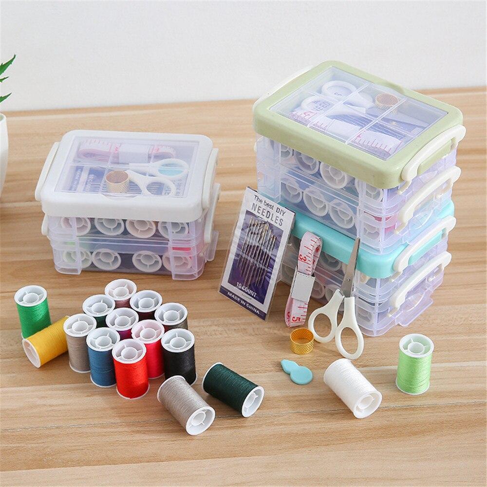 Kit de costura del hogar, Kit de herramientas de trabajo manual para...