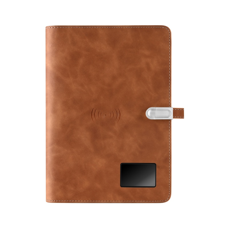 Custom Made Paper Screen Synchronization Notebook A5 Smart Microwave Wave Cloud Notepad Portable Diary Office School Kids Gift