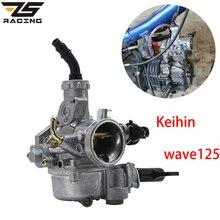 ZS Racing carburateur Keihin   Moto de 20mm pour Honda WAVE 125