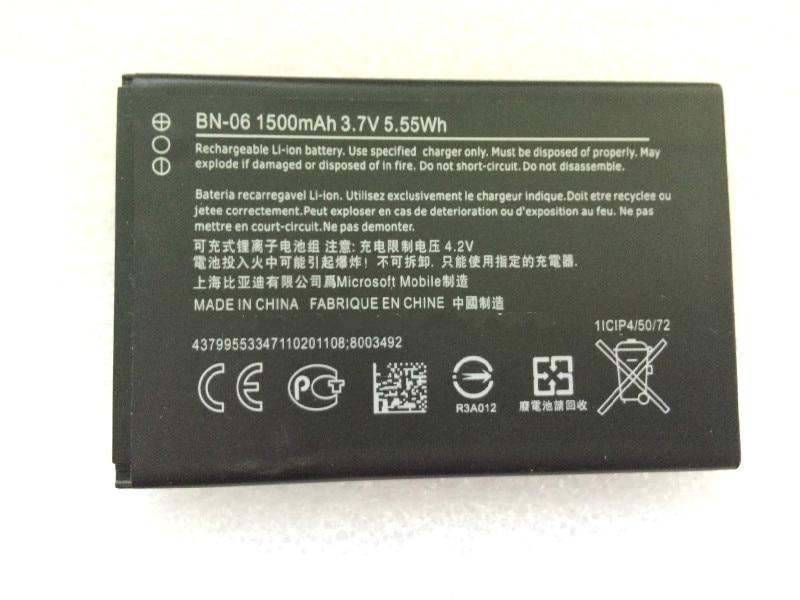 Nuevo reemplazo de batería de 1500mAh BN-06 para Nokia Lumia 430 Lumia...
