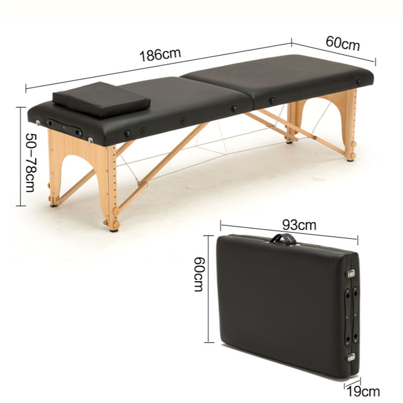 beauty bed body massage wash a physical therapy bed fold the cilia chair tattoo chair nursing care bed Massage bed folding portable home beauty bed massage acupuncture moxibustion physical therapy bed tattoo bed portable
