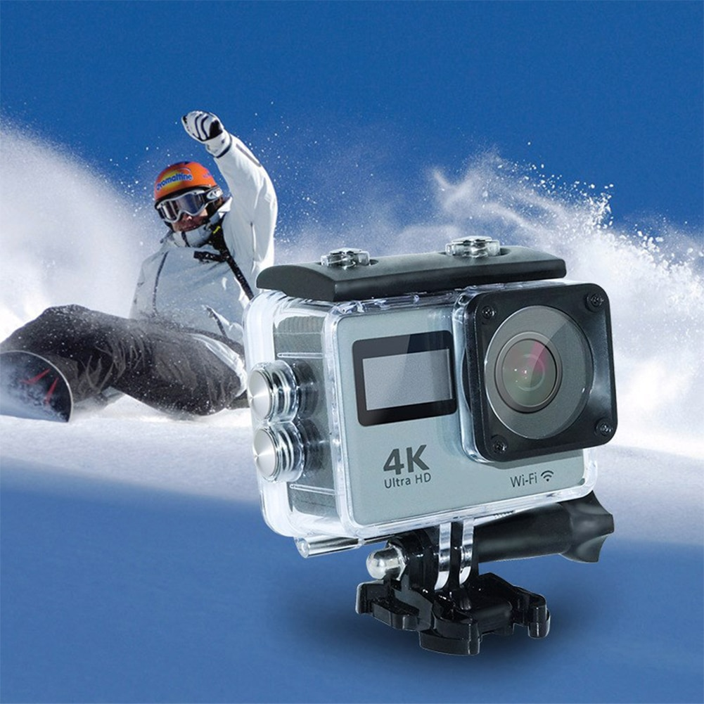 Dual Screen waterproof Pro Sports DV Ultra HD 4K Action Camera WIFI Remote Control Sport Camera 12MP 170D Helmet Camera enlarge