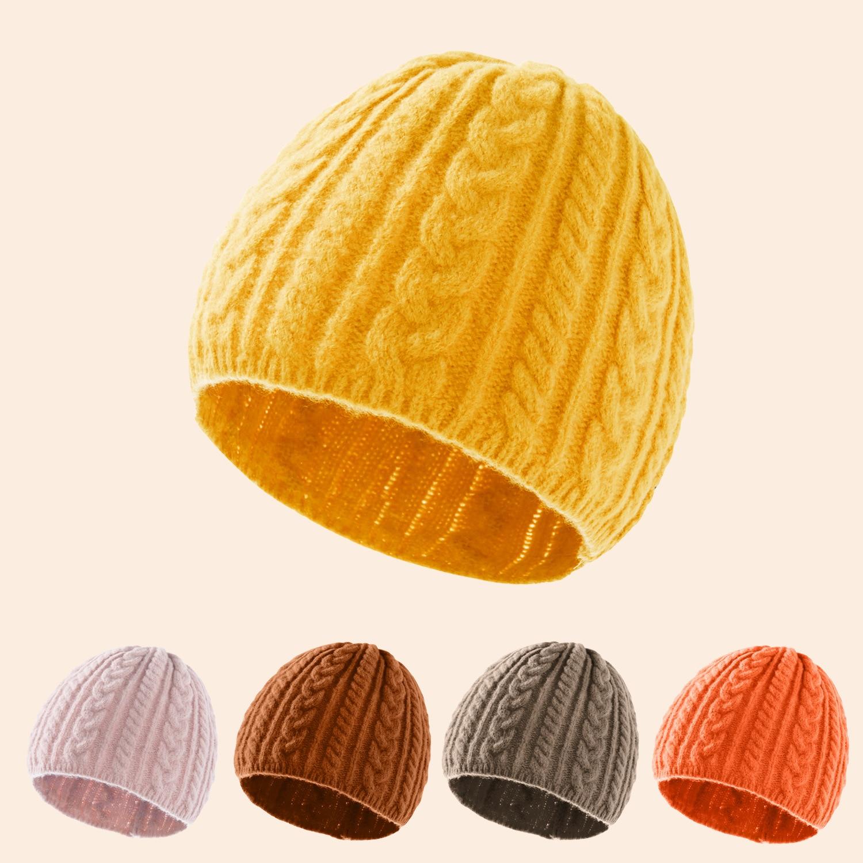 Женские теплые вязаные шапки, мужские зимние шапки, твист пуловер, шапка, уличная теплая женская вязаная шапочка, женские шапочки, шапочки