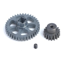 New Upgrade Part Metal Reduction Gear + Motor Gear Spare Parts for Wltoys A949 A959 A969 A979 RC Car