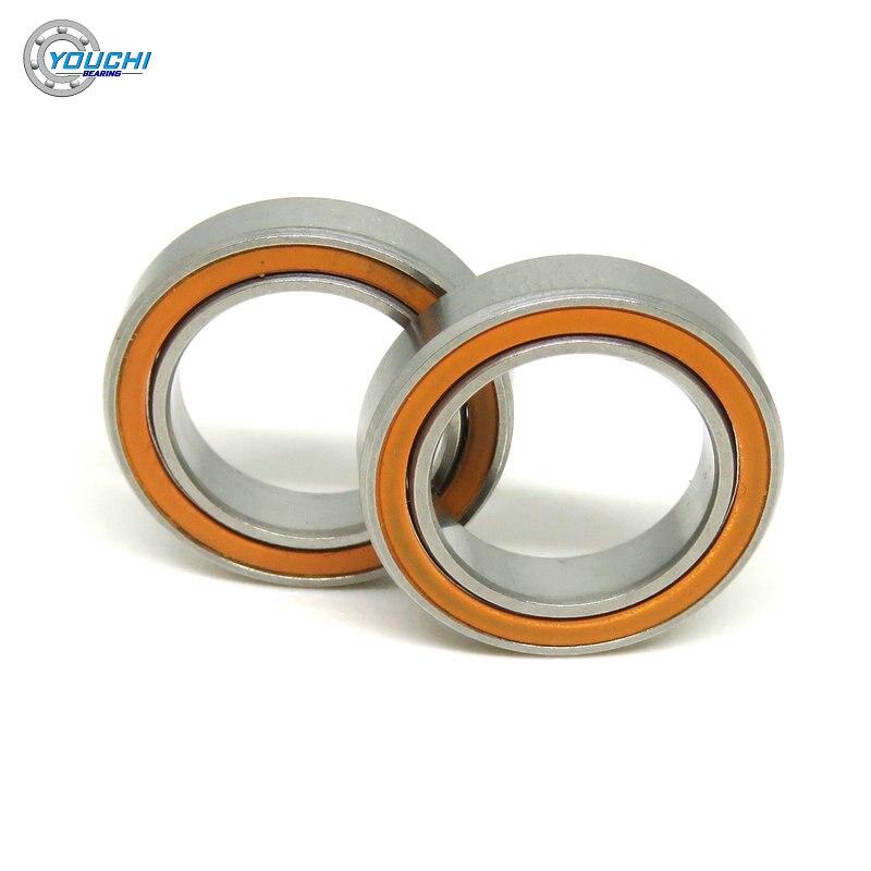 12x18x4 S61701 2RS الفولاذ المقاوم للصدأ الهجين الكرة بيرينغ 6700 61701 S6701 RS S6701C S61701C مصغرة رقيقة الجدار السيراميك المحامل