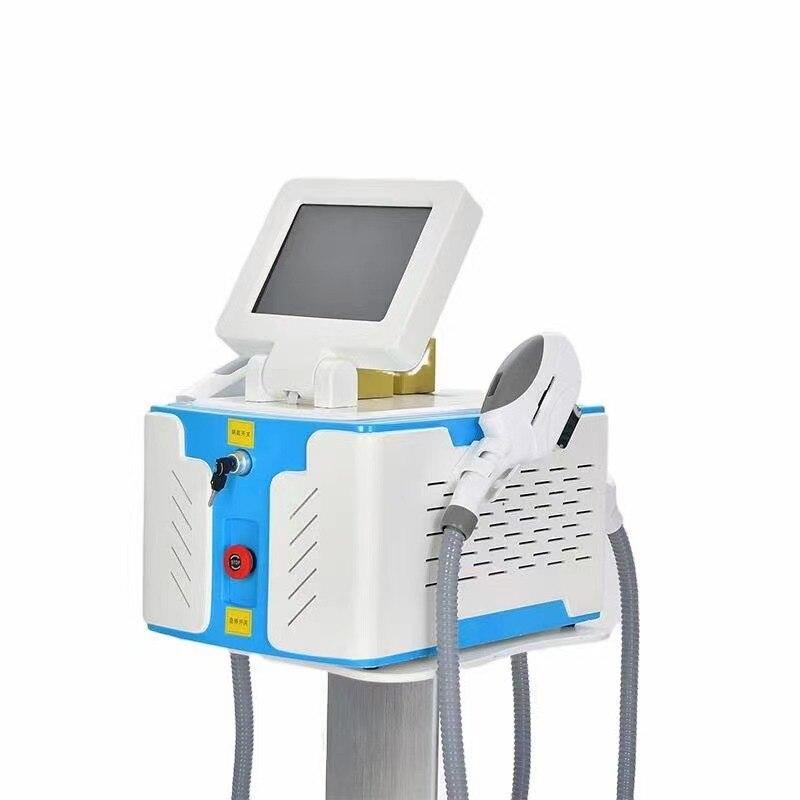Купить с кэшбэком 2021 Newest Factory Price 2 in 1 Nd Yag IPL OPT Shr Nd Laser Tattoo Removal Machine Nd Yag Laser Hair Removal Machine With CE