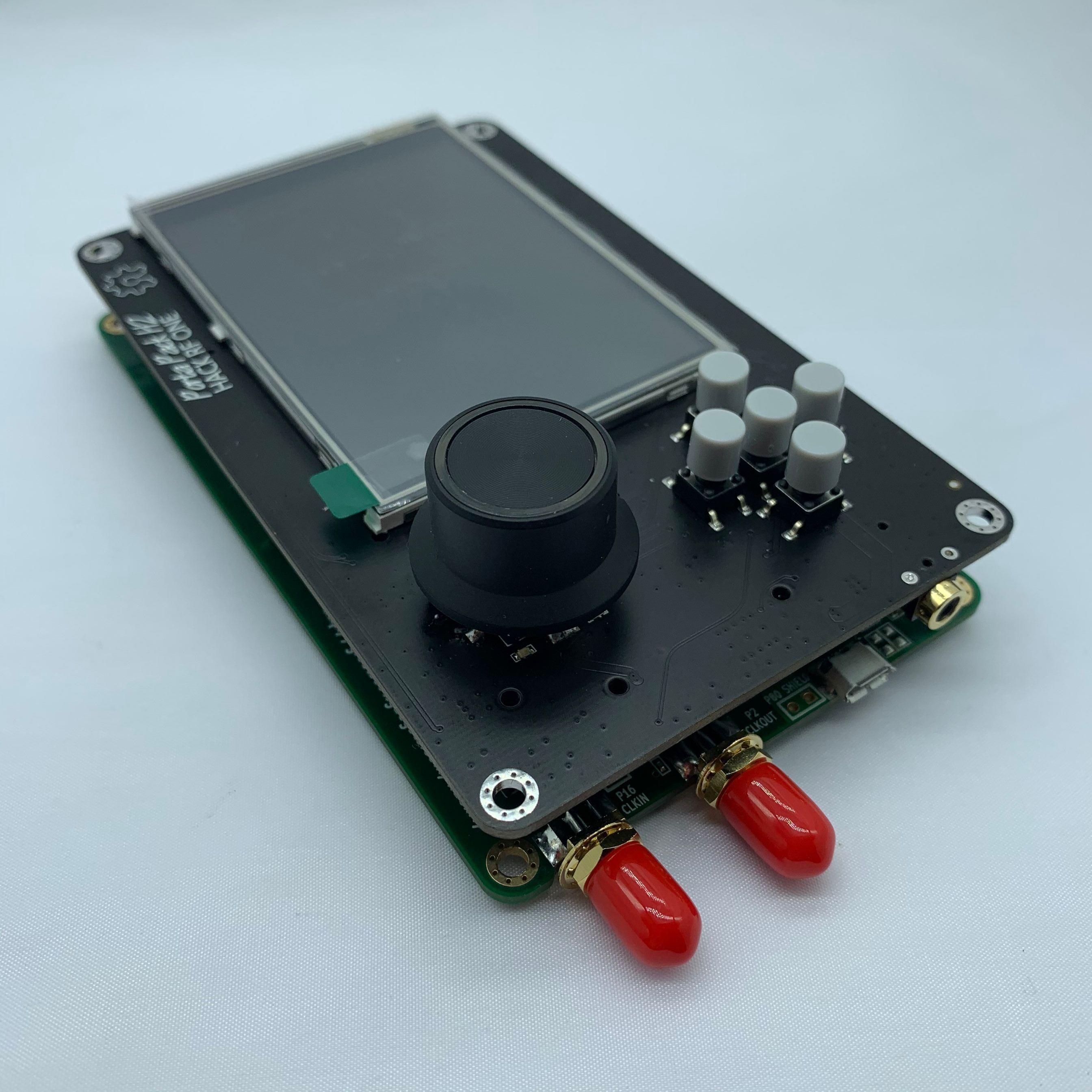 2020 versão mais recente portapack h2 + hackrf um rádio sdr + destruição firmware 0.5ppm tcxo + 3.2 polegada toque lcd + 1500 mah bateria
