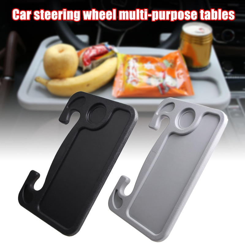 Bandeja de Carro Mesa do Carro para Comer Encaixa a Maioria dos Veículos em Estoque Multifuncional Volante Leitura Trabalho Portátil se