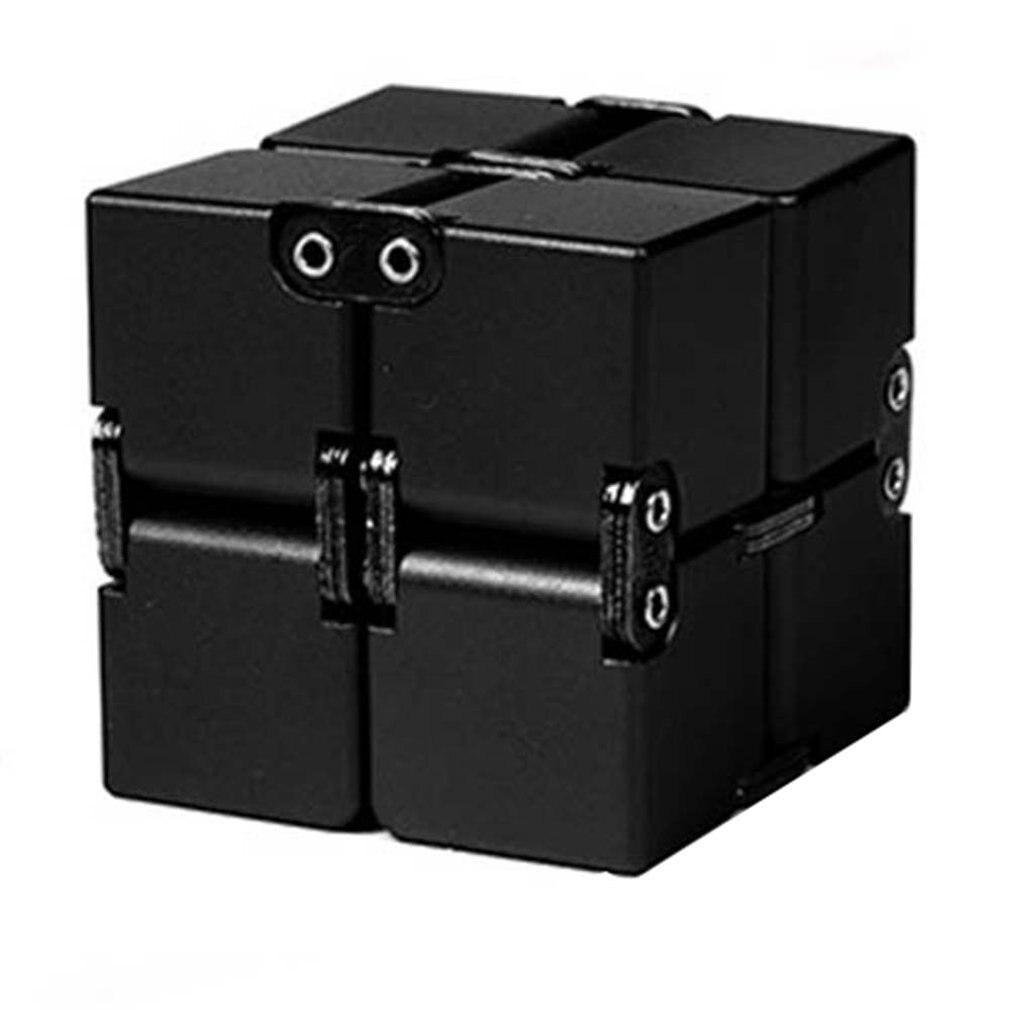 Волшебный куб, алюминиевые кубики, игрушки премиум-класса, металлическая деформация, волшебный антистресс, облегчение внешнего напряжения