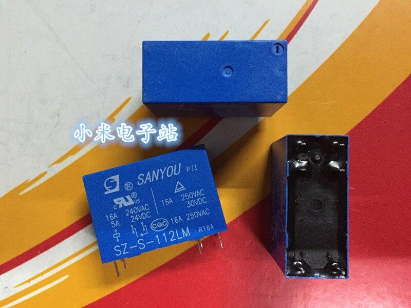 SZ-S-112LM ثلاثة أصدقاء تتابع 16A 250 فولت 6 أقدام مجموعة من JQX-14FW مفتوحة عادة 012-HS