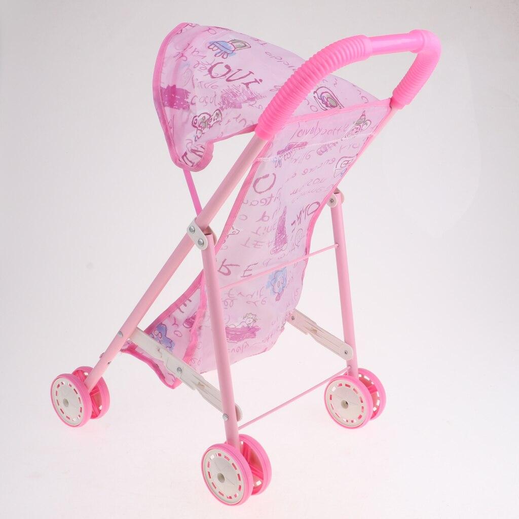 Muñeca, cochecito, carrito de bebé, muebles de simulación, juegos para muñecas Mellchan