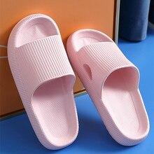 Pantofole da bagno per interni donna spessa antiscivolo casa antiscivolo deodorante nuvola scivoli uomo Ladys aumentare scivoli morbidi sandali scarpe