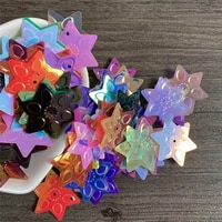 22mm hexagram sequins for show clothing materials hair accessories diy accessories party decoration